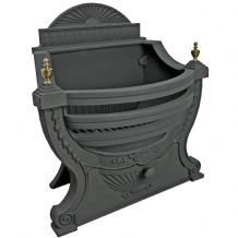 Victorian Fire Basket - Black